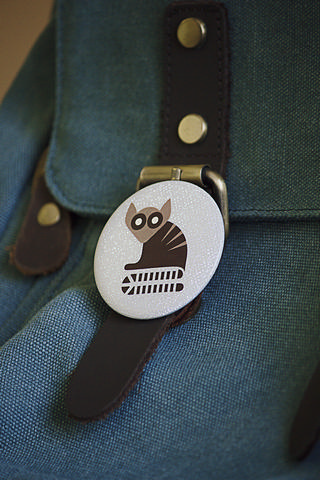 funny badge sublimation printing