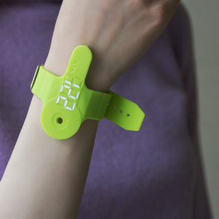 silicone wrist key holder