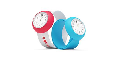 силиконовые часы с нанесением