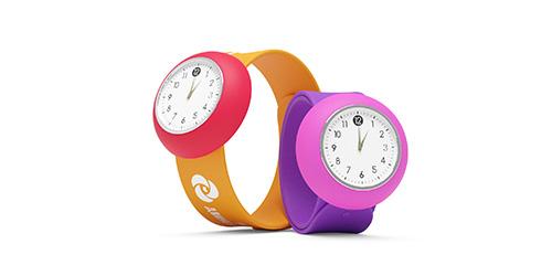силиконовые часы с логотипом