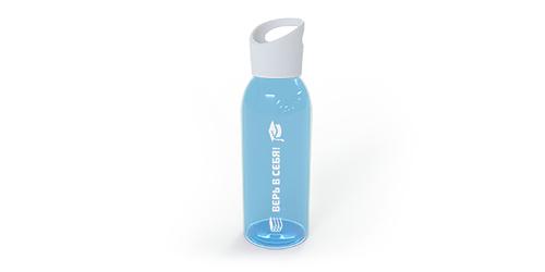Нанесение логотипа на бутылку